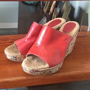 Born platform sandals/U